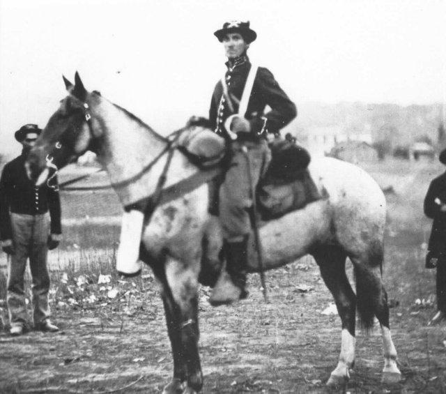 Forrest S Escort Civil War Cavalry