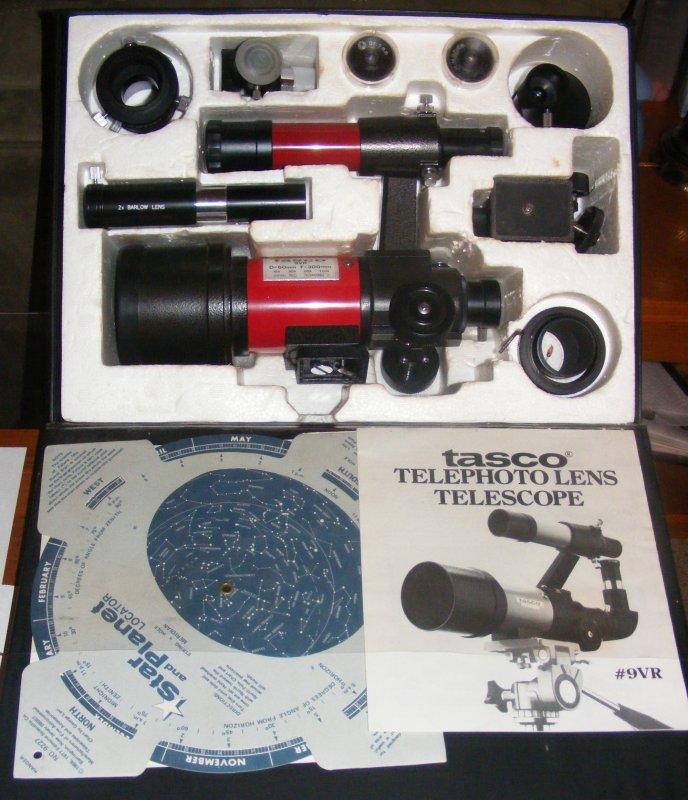 tasco novice telescope instructions